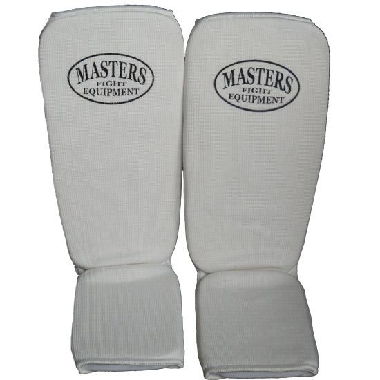 Masters Ochraniacze Elastyczne Piszczel I Stopę Białe