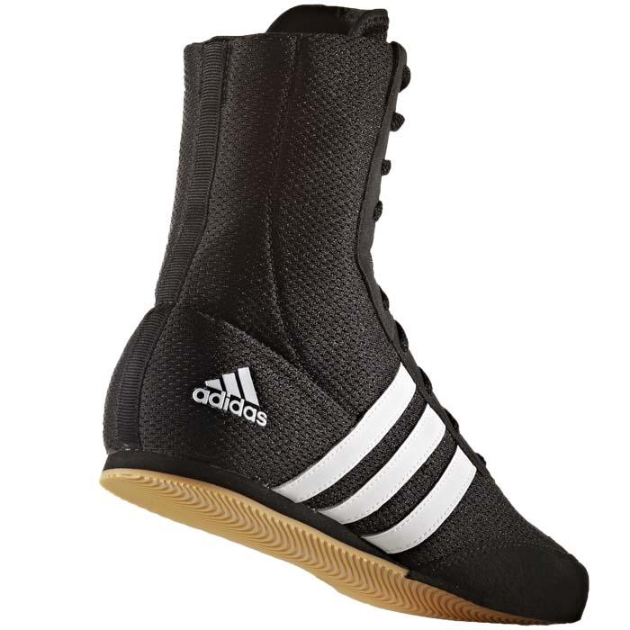 Adidas BOX HOG 2 Buty Bokserskie czarno brązowe
