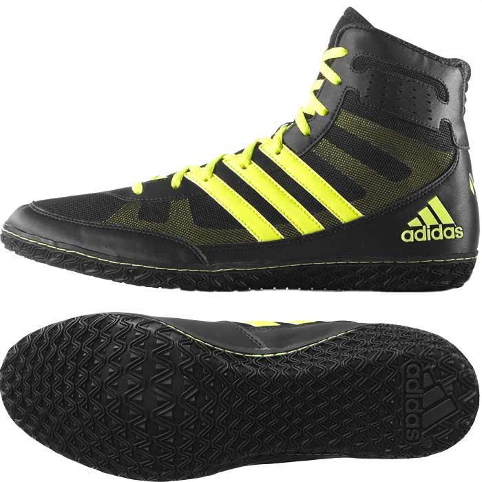 najlepiej sprzedający się niska cena odebrane Adidas Mat Wizard 3 - Buty Bokserskie, Obuwie Zapaśnicze