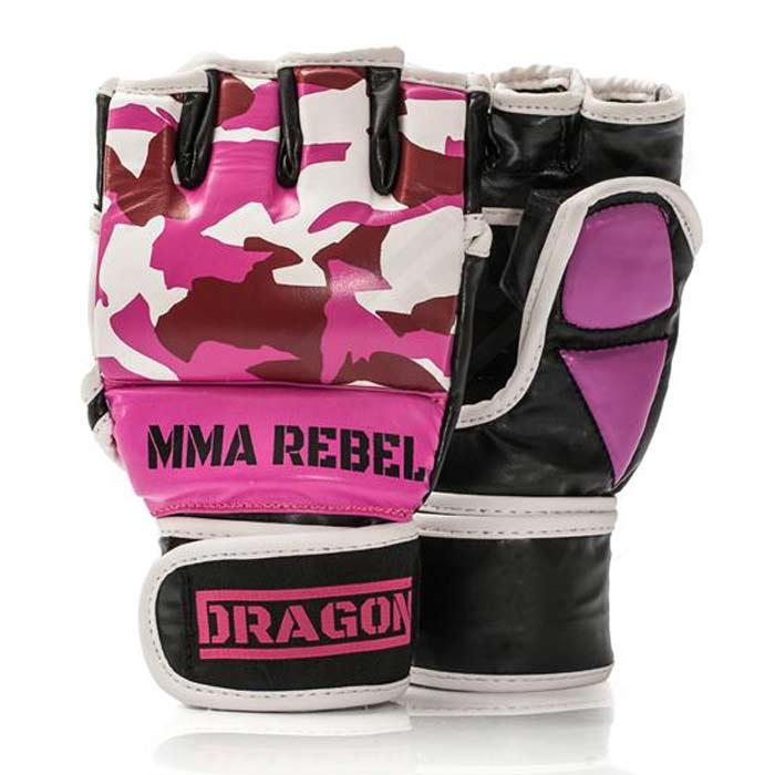 Rękawice chwytne Dragon MMA Grappling Rebel Moro 205307